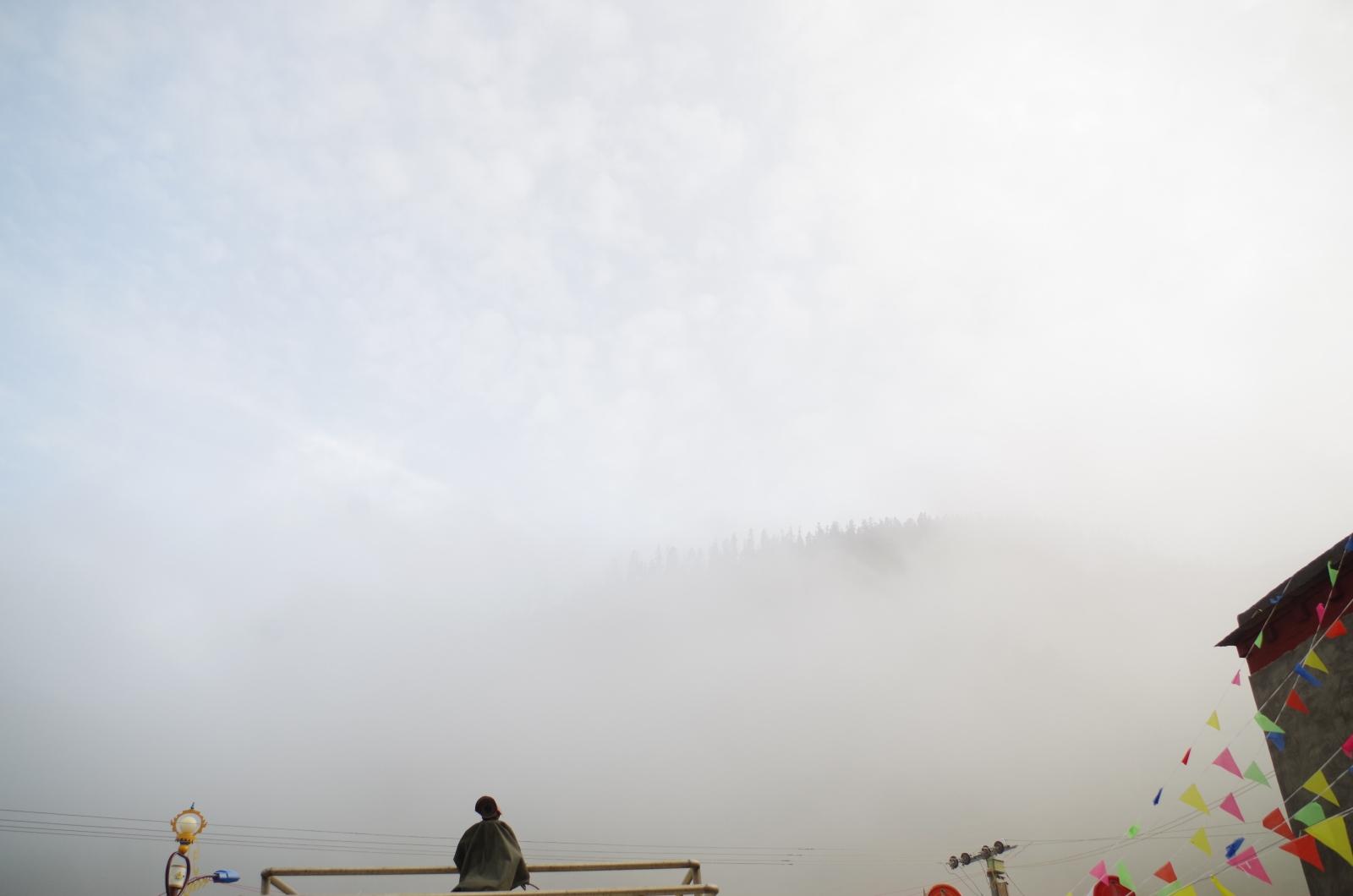 这雾,其实是焚烧垃圾产生的……ref