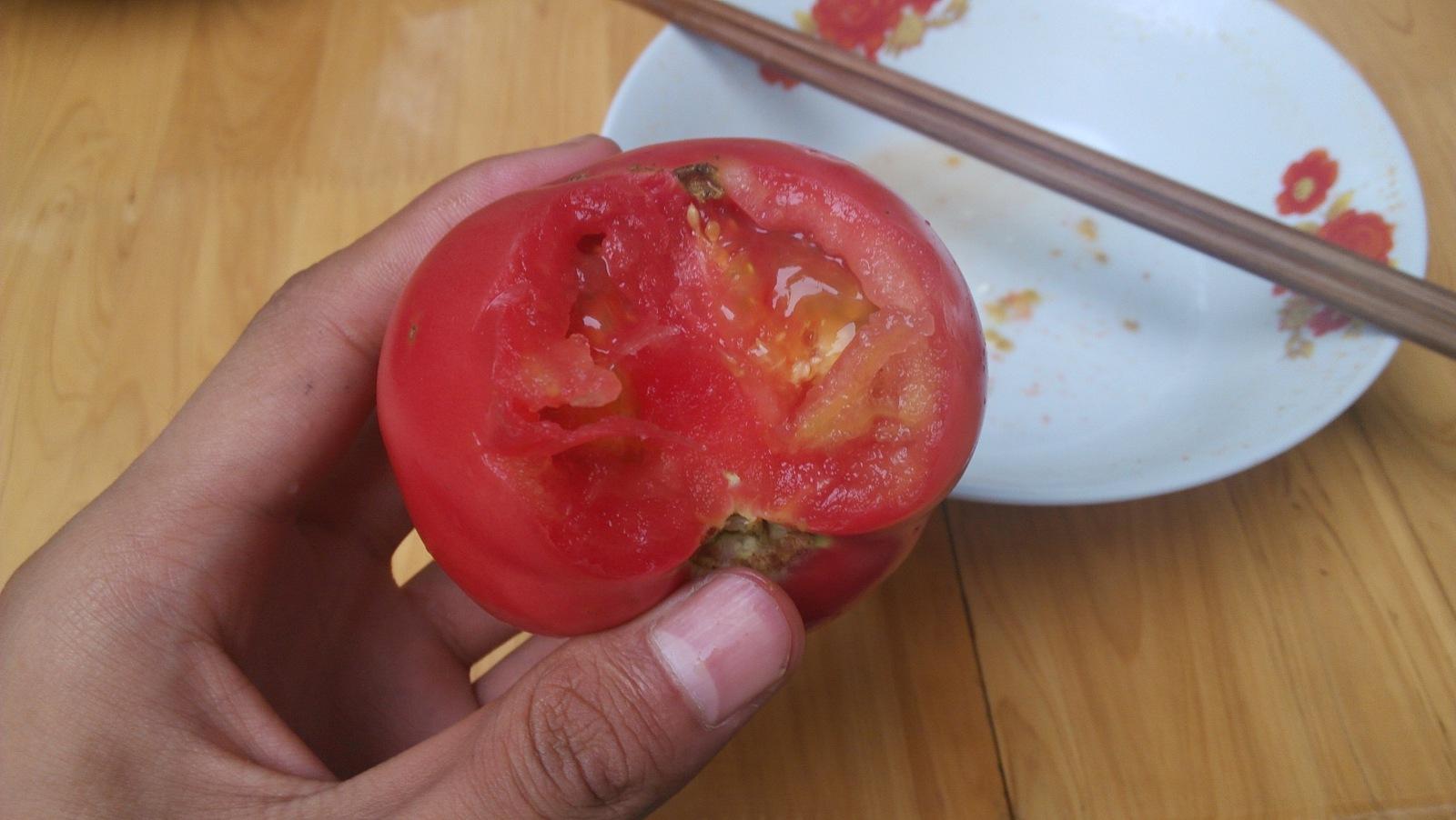 番茄什么的,随口来吃