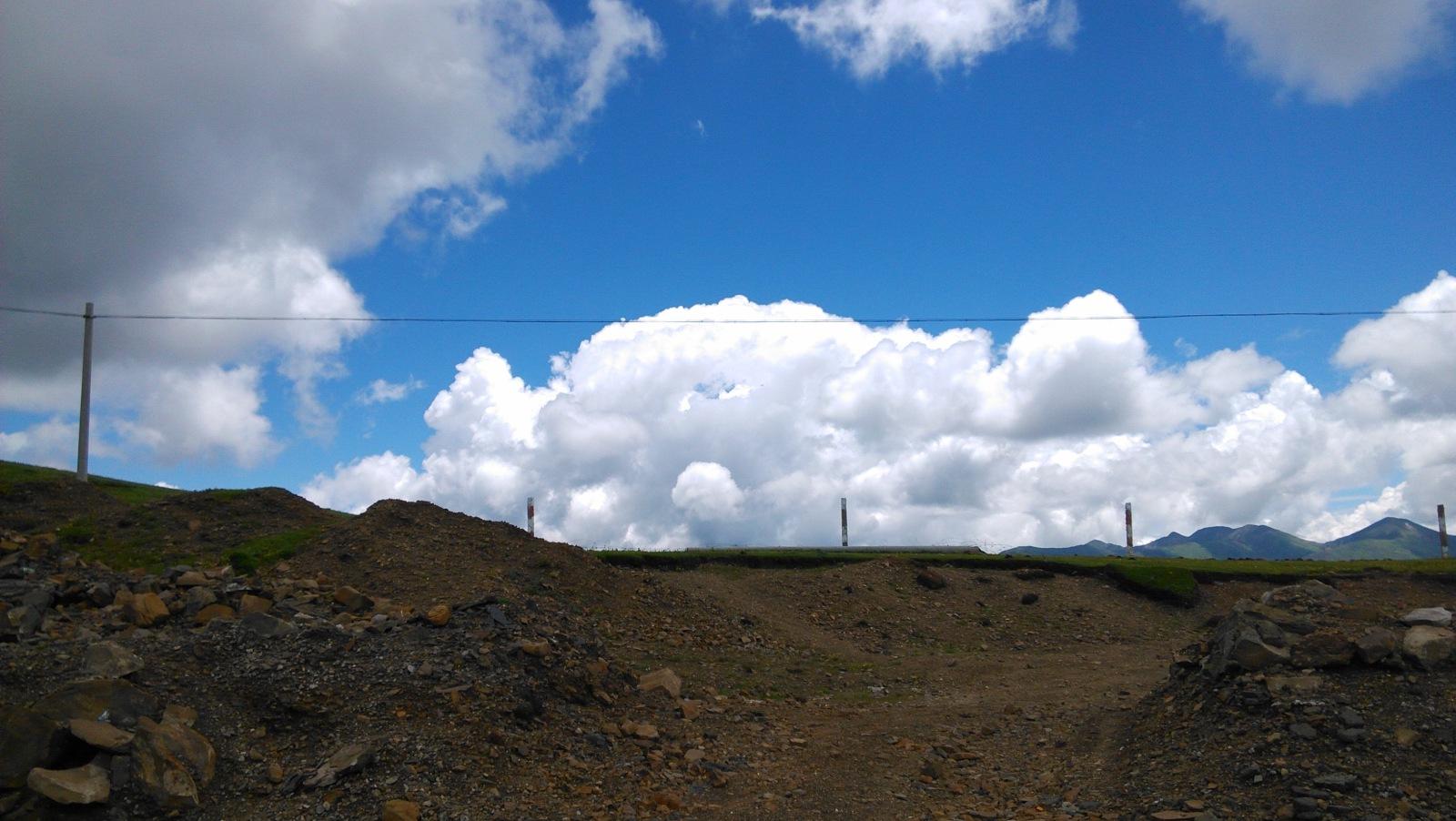云也显得很雄壮