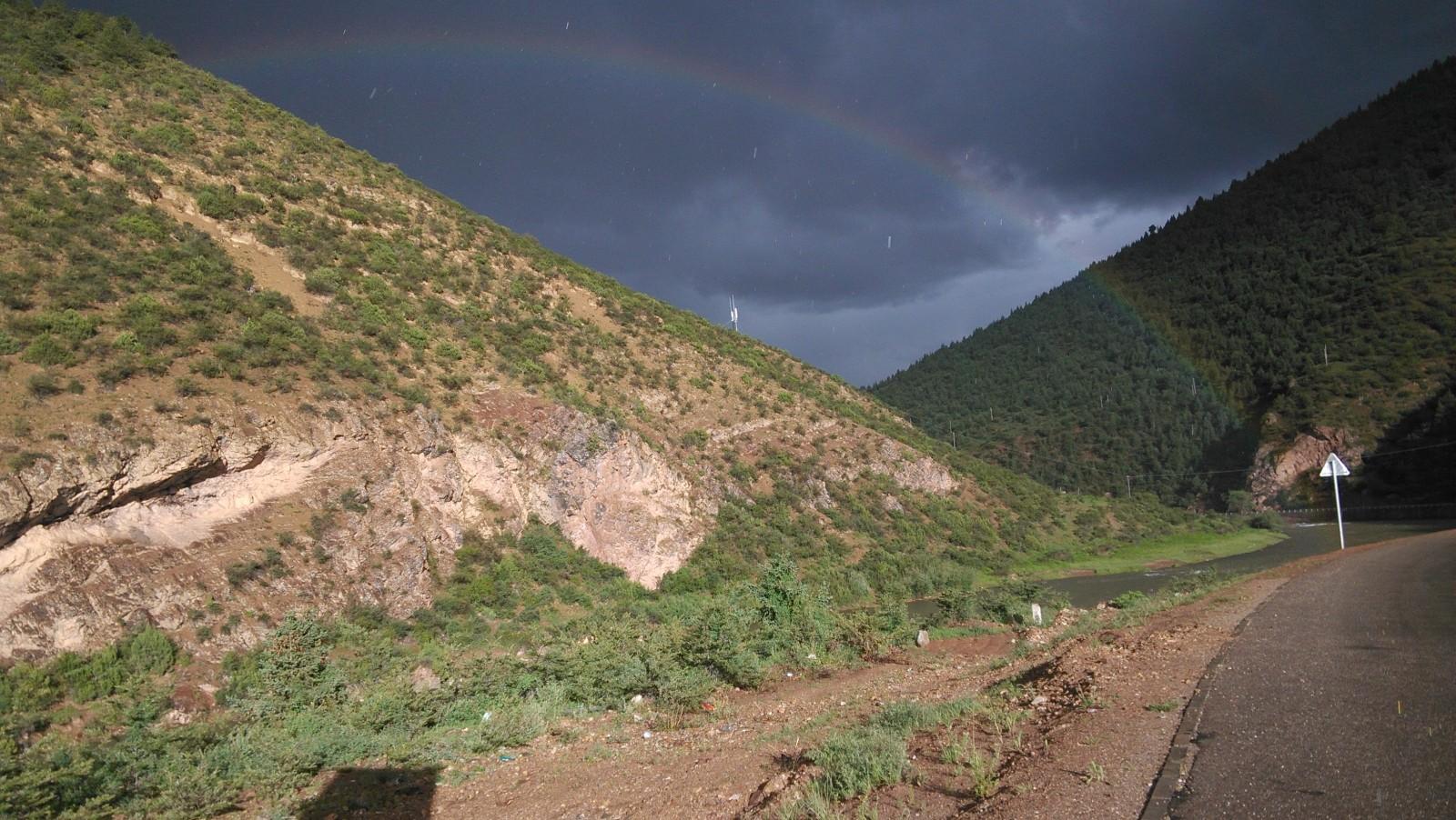 雨后彩虹~