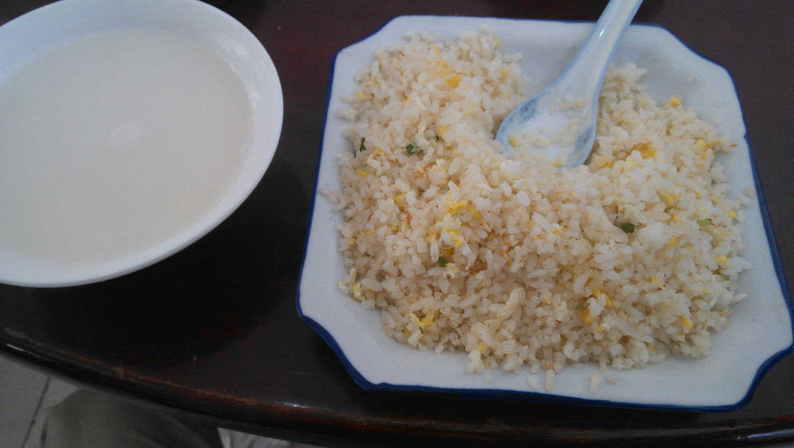 早上起来吃碗蛋炒饭什么的:-)美好一天即将开始~